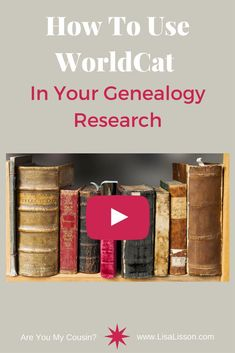 WorldCat can be a valuable tool in your genealogy research. Discover how to use WorldCat to find family histories and other genealogy resources. #genealogy #ancestors