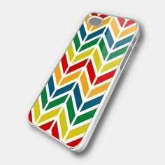COLORFUL CHEVRON Design for iPhone 4/4s/5/5s/5c, Samsung Galaxy s3/s4 case
