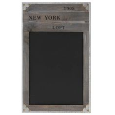 Nostalgische Holz-Kreide-Tafel 'NEW YORK 1968' - Schultafel - Kreidetafel - Memoboard Quantio http://www.amazon.de/dp/B0046A2DS2/ref=cm_sw_r_pi_dp_2V5pwb1YDBTKR