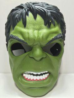 (TAS031797) - Vintage Halloween Mask - Marvel Avengers The Incredible Hulk