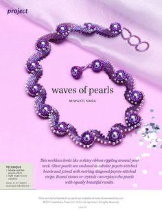 Схемы: Колье Waves of Pearls. Best of Beadwork 10