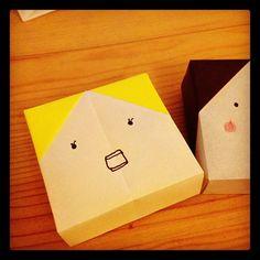 パツ金。#chinhako #origami - @chinhako- #webstagram