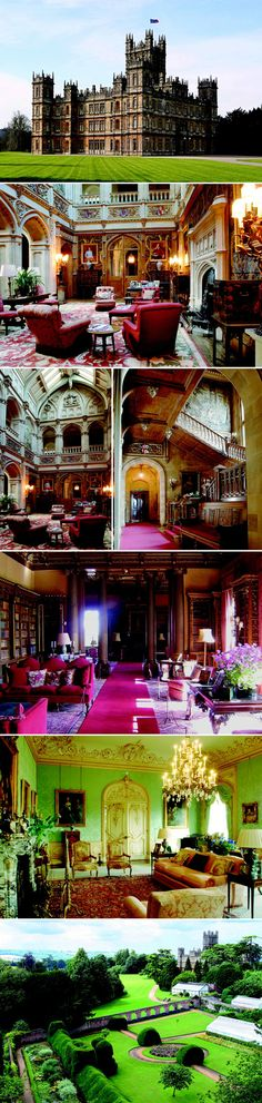 Inside Highclere Castle, The Set And Real-Life Muse For Downton Abbey  http://www.forbes.com/sites/morganbrennan/2013/02/05/inside-highclere-castle-the-real-life-locale-of-downton-abbey/