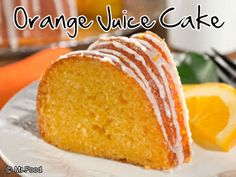 Put the squeeze on some refreshing orange juice and get ready to take it to a whole new level with our easy shortcut Orange Juice Cake. This sunny-tasting cake starts with a mix and ends with lots of raves!                                                                                                                                                                                 More