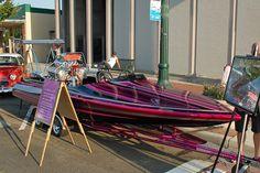Flatbottom Drag Boat