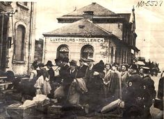 September 19, 1942, Deportation of Jews from Hollerich, Luxemburg, by the local police