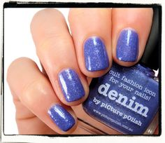 Nailderella: piCture pOlish - Denim
