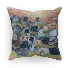 Autumn Pannage Cushion - Out of the Hutch