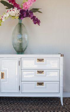 Beau Stanley Faux Bamboo Dresser In White Dove. Furniture RefinishingPainting  FurnitureFurniture ProjectsFurniture RedoLacquer ...