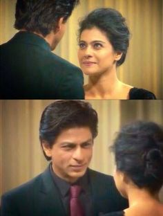 When they look at each other like this. Srkajol