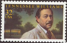 Literary Stamps: Williams, Tennessee (1911 – 1983)