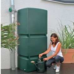 3P Technik 210 Gal. Light Granite Jumbo Rain Water Tank-9000128 - The Home Depot. The 3P Technik Jumbo Rain Water Storage Tank is a high capacity option for your above ground rainwater storage. These modular wall tank can be connected together with a 3P Technik Connection kit, allowing you to store as much water needed for any home, business or municipal use. With a slim shape, smooth surface fit and huge capacity of 210 Gal.