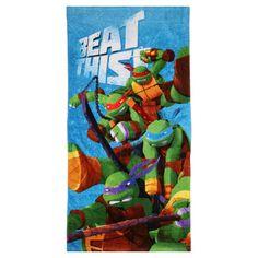 Nickelodeon Teenage Mutant Ninja Turtles Bath Towel | Spotlight Australia
