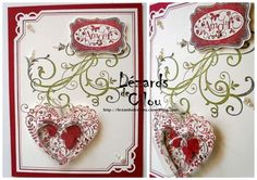 SU Elements of Style- flourish stamp from set used as a background stamp in a Valentine card.  This card is from a great French stamping blog.  SAINT VALENTIN 2012 N°8 BLOG