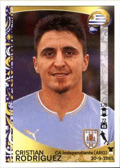 2016 Panini Copa America Centenario Stickers #247 Cristian Rodriguez