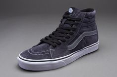 130382fcae8f Vans Sk8-Hi - Mens Select Footwear - (Suede) Ombre Blue-Smoked