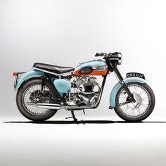 1959 Triumph T120. via Triumph