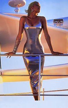 Futuristic Girl--bracelets Future ^ Tin Woman