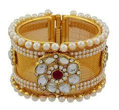 High Trendz Traditional Style Gold Plated Pearl & Kundan ... http://www.amazon.in/dp/B071HRKYT4/ref=cm_sw_r_pi_dp_x_K1Vfzb0C2X0ZM