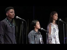 "Khamal Iwuanyanwu, Sarina Morales, and Vanessa Tahay - ""Standing In Between"" - YouTube"