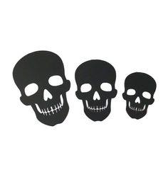 Skeleton cut outs Paper skeleton Halloween Decor skull Die image 0