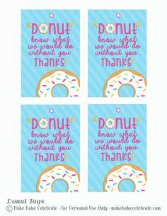 dunkin donuts gift card teacher tags - Google Search:
