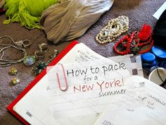 I'm heading to New York City tomorrow for BlogHer 2012 and a little summer holiday afterwards. Here's what I'm packing to wear at the conference.