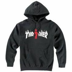 Thrasher Thrasher Flame X Girl PO Sweatshirt - Men's