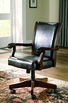 Home Office Desk Chairs Log Pub Table And 27 Best Vintage Chair Images Signature Design By Ashley Alymere Swivel Brown