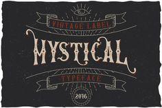 Mystic Label Typeface - Display
