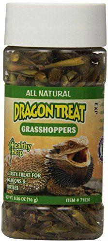 San Francisco Bay Brand SSF71820 Health Herp Dragon Treat, Grasshoppers, 0.56-Ounce - http://www.bunnybits.org/san-francisco-bay-brand-ssf71820-health-herp-dragon-treat-grasshoppers-0-56-ounce/