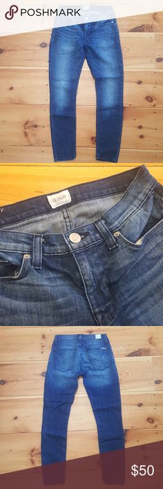 Hudson Midrise Nico Super Skinny Ankle Jean Excellent condition! Hudson Jeans Jeans Skinny