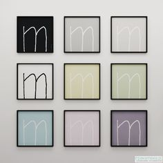 Pakamera – M letter, would be great to have it on our wall somewhere. M&M :)
