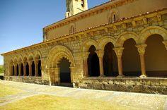 Fotos de: Segovia - Duratón - Románico -Iglesia de N. Sra.  de la Asunción