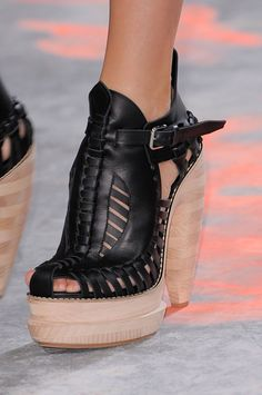 shoes @ Proenza Schouler Spring 2014