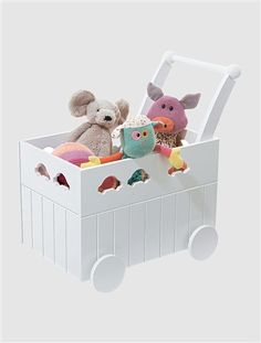 Baby Walker Toy Box Pink-lilac+White