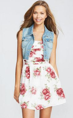 Floral is coming back !!-trendy dress for teens