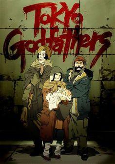 Tokyo godfathers (2003) - Satoshi Kon