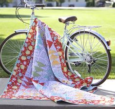 Free Quilt Pattern featuring Ardently Austen fabric line by Amanda Herring Designs for Riley Blake Designs—Subscribe to our newsletter at http://www.rileyblakedesigns.com/newsletter/