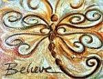 Believe Dragonfly by Sips N Strokes