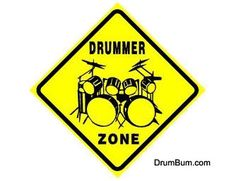 Drummer Zone Sign - Drum Gifts and Gift Ideas for Drummers. Great for Birthday Gifts, Christmas Gifts or any Occasion. Drummer Gifts, Drummer Boy, Drummer Quotes, Drummer Humor, Musica Love, Trommler, Drum Room, Tap Room, Music Gifts