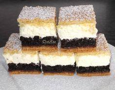 Hungarian Desserts, Hungarian Cake, Hungarian Recipes, Hungarian Food, Meat Recipes, Cake Recipes, Dessert Recipes, Cake Bars, Nutella