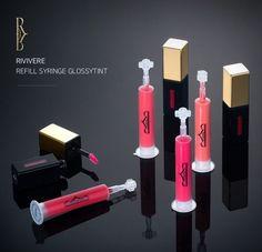 Rivivere Refill Syringe Glossy Lip Tint (Refillable lip tint) #Rivivere