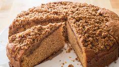 Recipe: Coffee Cake with Pecan-Cinnamon Streusel | KCET Streusel Cake, Cinnamon Crumble, Cinnamon Coffee, Cinnamon Cake, American Test Kitchen, Cooks Illustrated Recipes, Cupcakes, Savoury Cake, Amigurumi