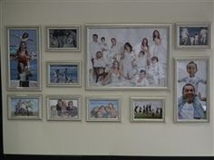extra large collage frames large 10 peice multi picture frames 12x6