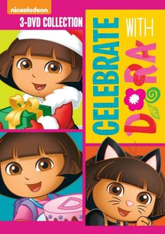Dora the Explorer: Celebrate with Dora DVD Release & Giveaway 09/24 US/CAN - Gator Mommy Reviews #doratheexplorer #nickelodeon #halloween #christmas #birthday #dvd #giveaway