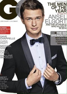 Shailene Woodley & Ansel Elgort Look So Good for GQ's Men of the Year Covers!: Photo Shailene Woodley and Ansel Elgort get their own individual covers for GQ's Men of the Year issue - and The Fault in Our Stars actors look amazing! Ansel Elgort, Penelope Cruz, Gq Magazine Covers, Michael Sam, Bae, Dave Chappelle, Pokerface, Steve Carell, Gq Men