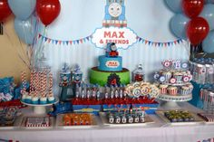 Thomas the Train Birthday Party Ideas | Photo 7 of 17