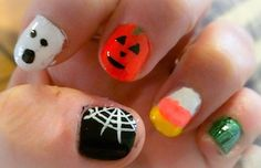 HALLOWEEN NAIL ART - one of everything!