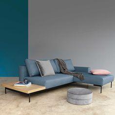 Innovation Ecksofa Bragi mit Tisch - Ecksofas - Sofas & Couches - Wohnzimmer - Möbel